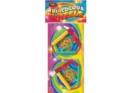 Tri Colour Wheels
