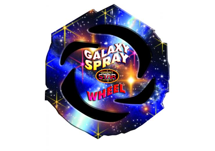 Galaxy Spray Wheel