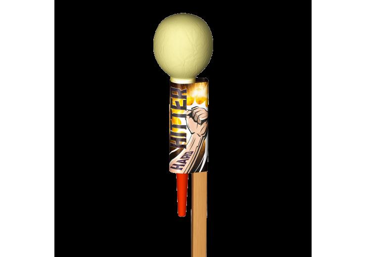 """Hard Hitter 3"""" Shell Rocket"""