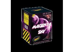 Magenta Sky Gender Reveal