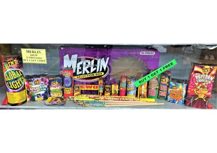 Merlin Selection Box BOGOF